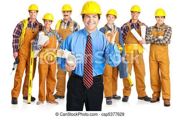 contractors people - csp5377629