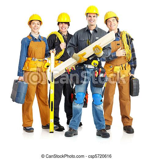 contractors workers people - csp5720616