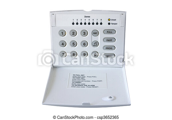 Alarma de control - csp3652365