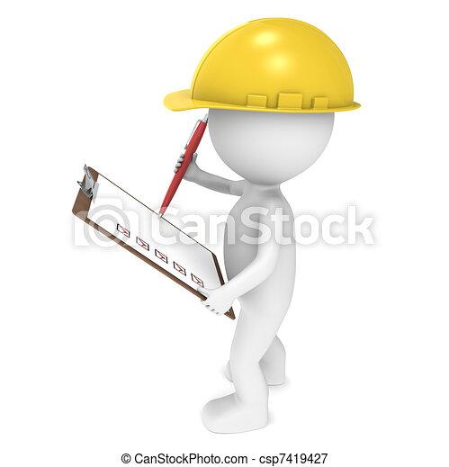 Control de calidad - csp7419427