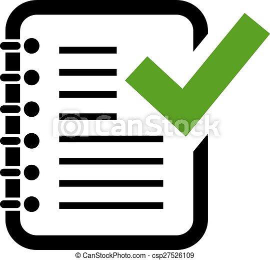 Control, documento, gramática, icono. Control, gramática,... clipart ...