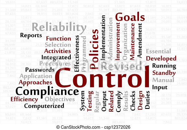 control word cloud data sheet background vector illustration  control csp12372026
