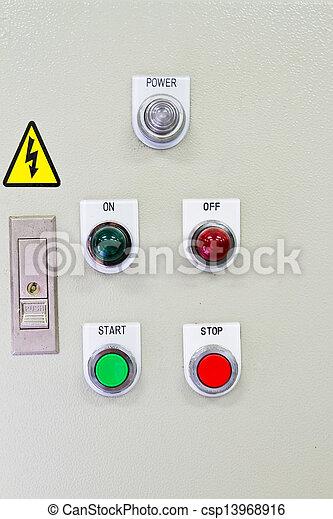 Panel de control. - csp13968916