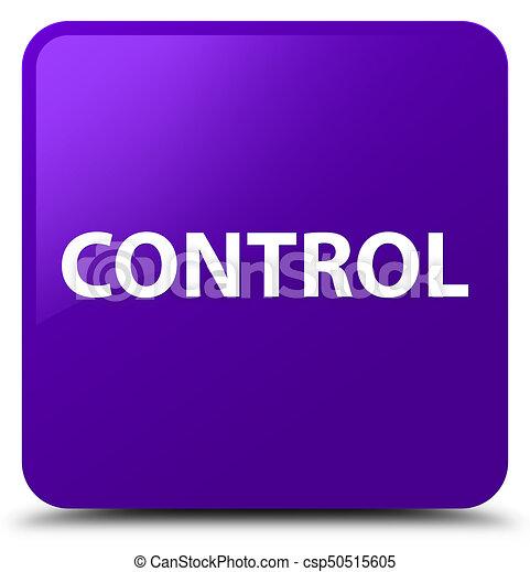 Control purple square button - csp50515605