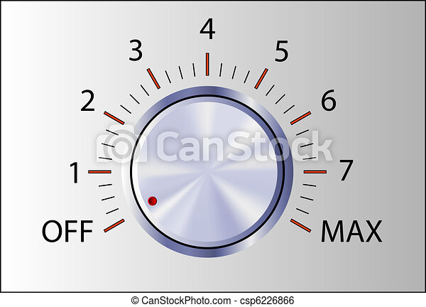 Manilla de control realista con marcas - csp6226866