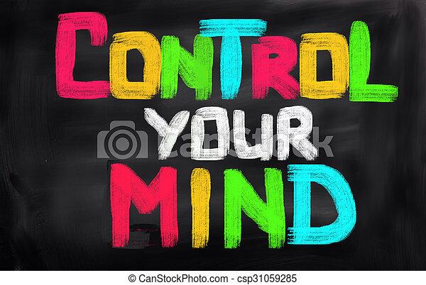 controle, conceito, mente, seu - csp31059285