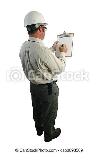controlelijst, inspecteur, veiligheid - csp0093509