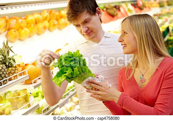 controleren, salat - csp4758080