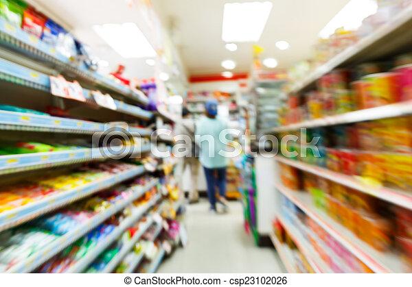 convenienza, blurry, negozio - csp23102026