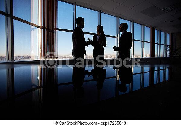 conversazione, affari - csp17265843