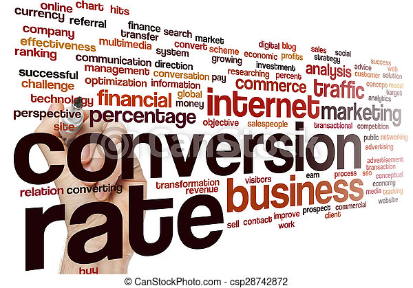 Nube de palabra de conversión - csp28742872