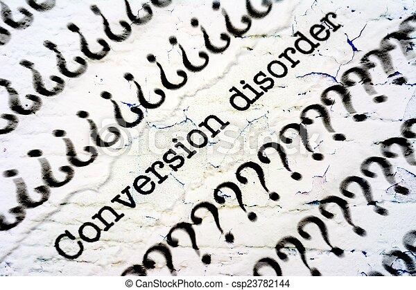 Conversion disorder - csp23782144
