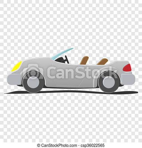 Convertible - cartoon illustration - csp36022565