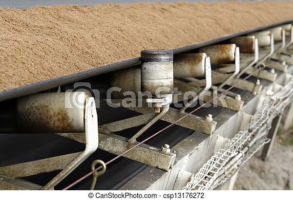 conveyor belt - csp13176272