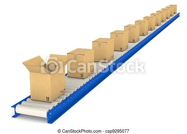 Conveyor Belt.  - csp9295077