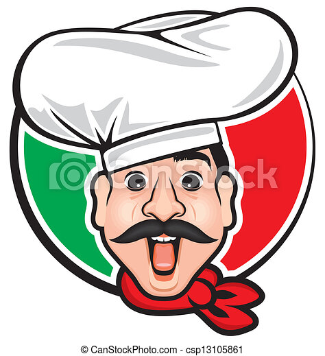 cook italian chef clip art vector search drawings and graphics rh canstockphoto com italian chef clip art free
