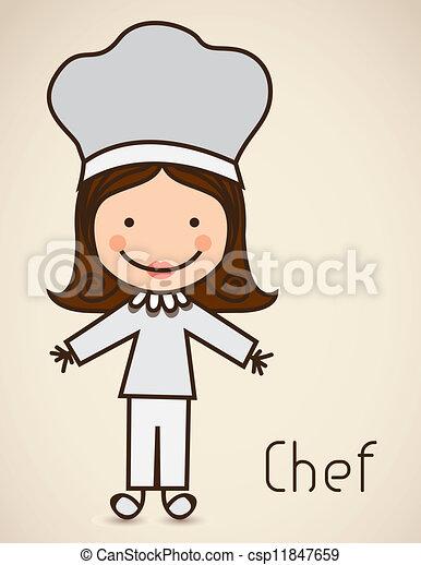 cook icon - csp11847659