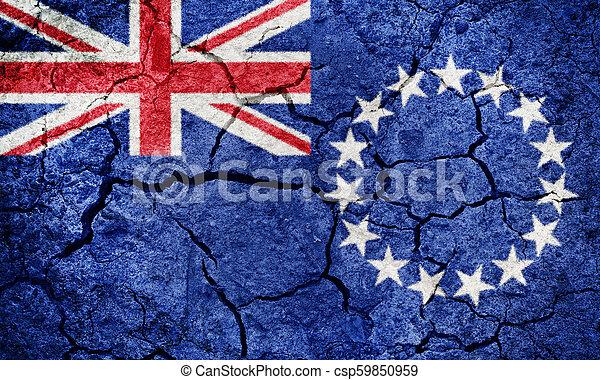Cook Islands flag - csp59850959