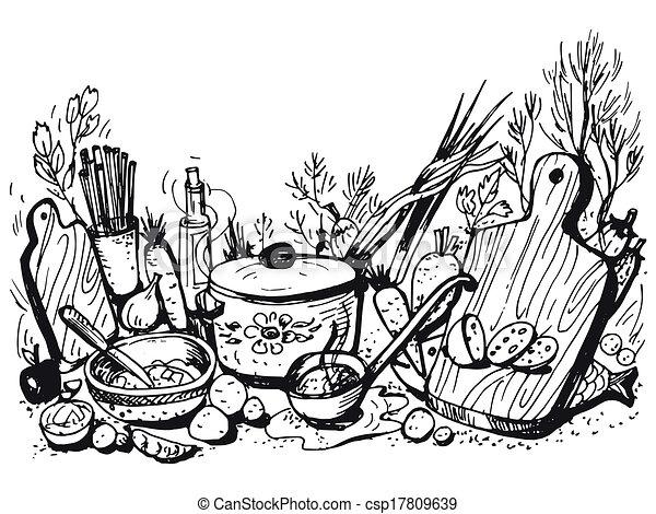 cookery - csp17809639