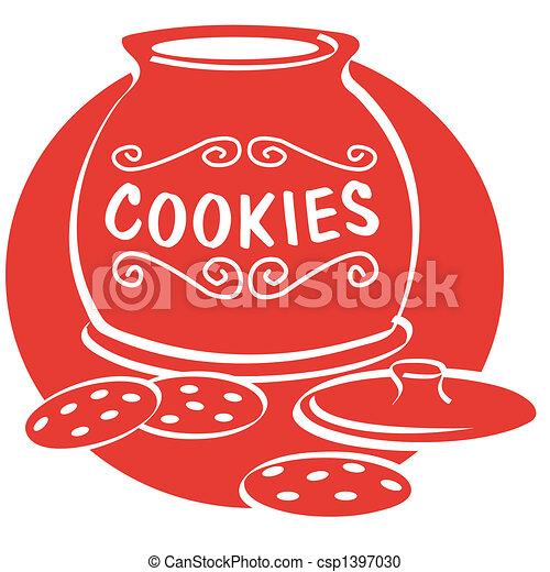 Cookie clip art - csp1397030