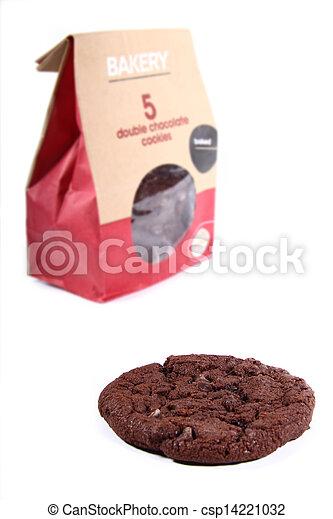 cookie with bag of cookies - csp14221032