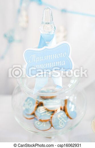 Cookies in a glass jar - csp16062931