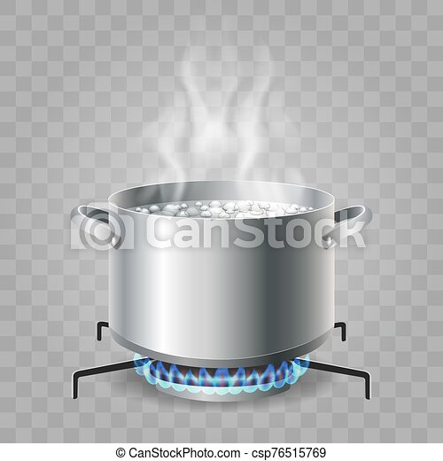 Cooking boiling water - csp76515769