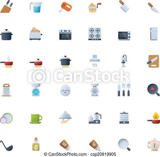 Cooking icon set - csp20919905