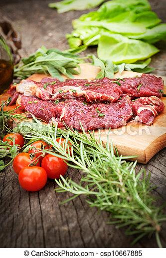Cooking ingredients - csp10667885