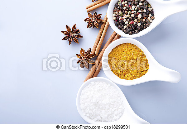 Cooking ingredients, spice - csp18299501