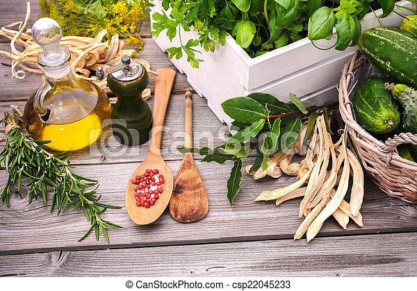 Cooking ingredients - csp22045233
