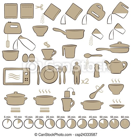 cooking manual instructions,  - csp24333587