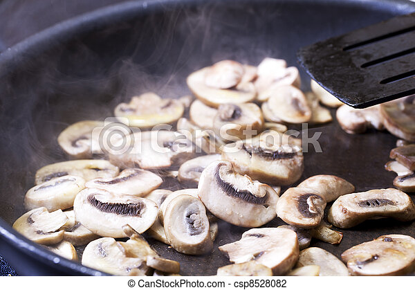 Cooking Mushrooms - csp8528082