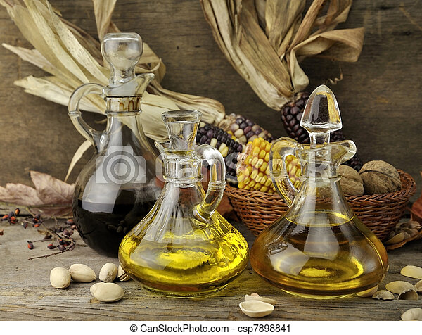 Cooking Oil And Vinegar - csp7898841