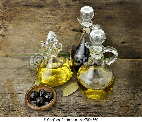Cooking Oil And Vinegar - csp7824560