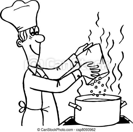 Cooking process - csp8093962