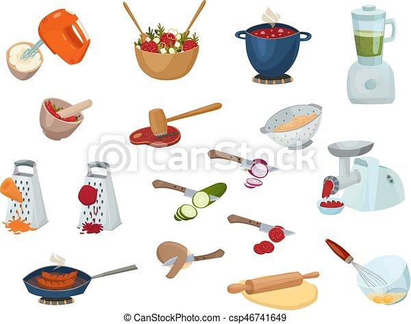 Cooking Process Set - csp46741649
