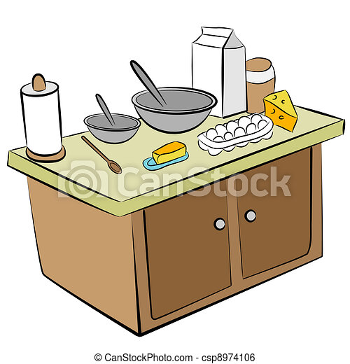 Cooking Tools and Ingredients - csp8974106