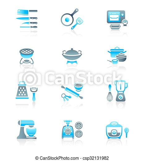 Cooking utensil icons   - csp32131982