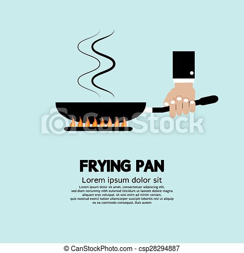 Cooking With Frying Pan. - csp28294887
