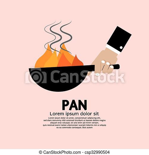 Cooking With Frying Pan. - csp32990504