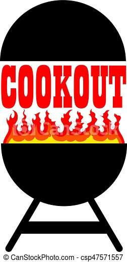 Cookout With Grill - csp47571557