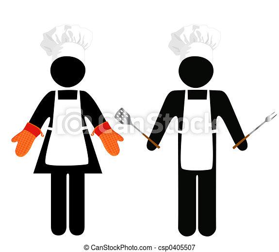 Cooks Symbol-People - csp0405507