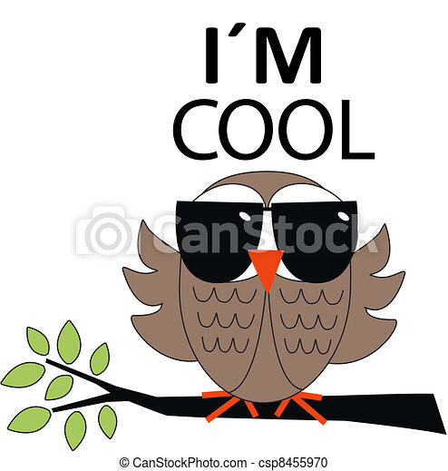 cool owl rh canstockphoto com cool clipart images cool clipart for youtube
