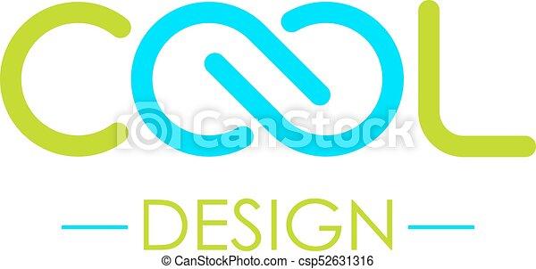 Cool Word Logo Symbol