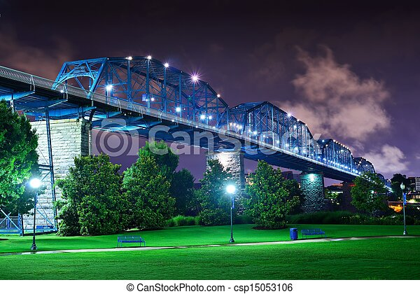 Coolidge Park in Chattanooga - csp15053106