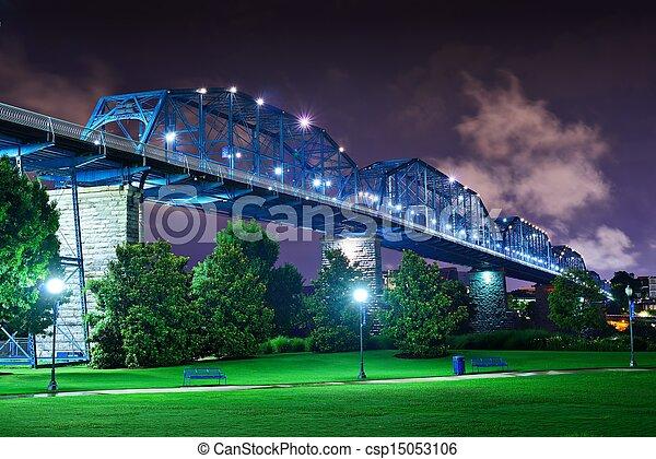 Coolidge Park in Chattanooga - csp15053106