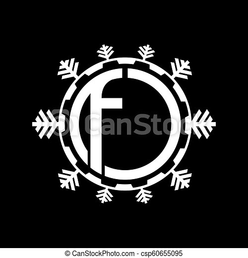 Cooling Systems Logo Air Conditioning Service Icons Climate