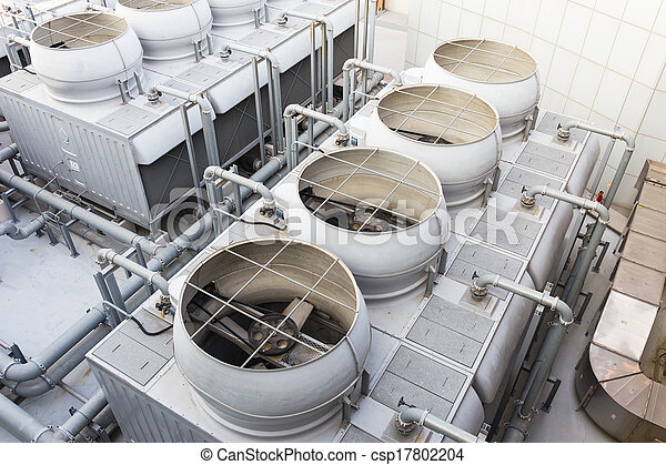 Cooling tower at outdoor - csp17802204