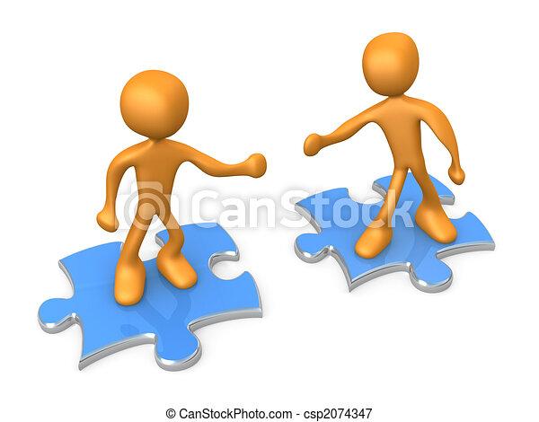 Cooperation - csp2074347